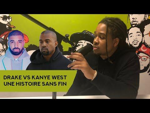 Drake contre Kanye West une histoire sans fin !