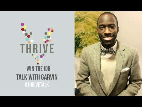 How to Transition from College to a Succesful Career   Thrive Talk   Garvin Reid