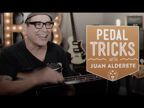 Bass Pedal Tricks with Juan Alderete