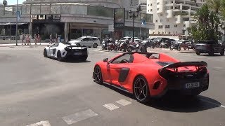 [PBSS`18] Puerto Banus Supercars Spotting 15 ( 2x675LT Spider, 3xSpeciale, Aventador S...)