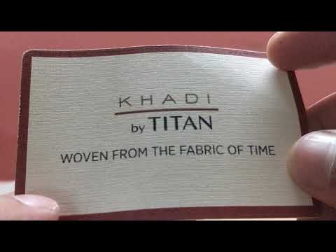 Titan Khadi Watch - Unboxing And Review