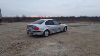 Bmw E46 316i Drift on mud ! 105 hp !