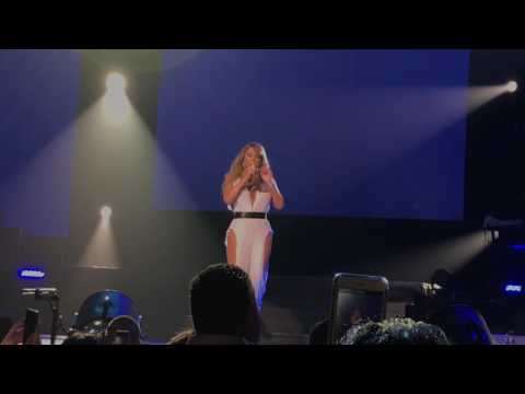 Mariah Carey live Infamous with Jussie Smollet in Hawaii