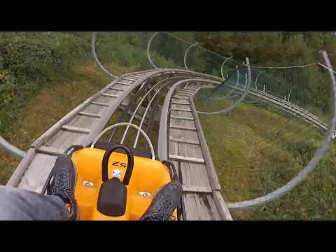 Alpsee Coaster | Deutschlands Längste Sommerrodelbahn | POV