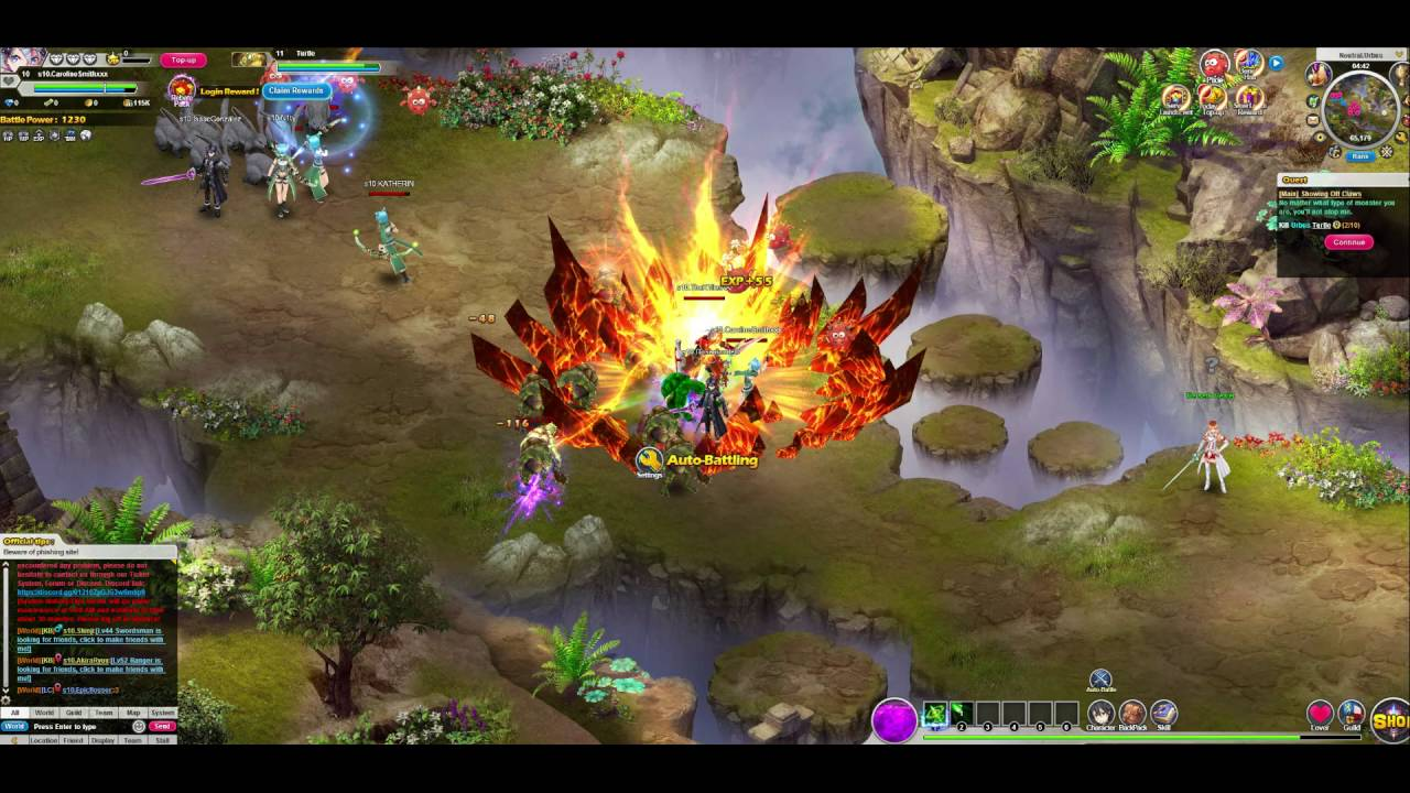 Sword Art Online Legend Gameplay MMORPG First Look - MMOs.com - YouTube