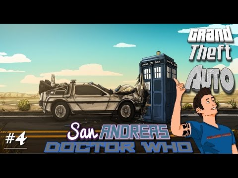 GTA San Andreas | Doctor Who | Great SCOTT!