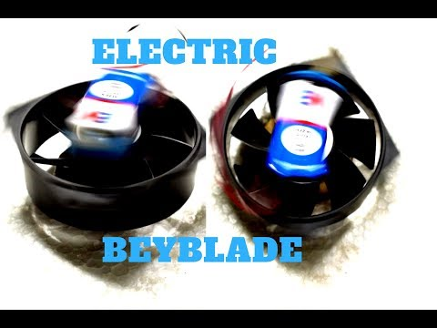 How to Make a Unstoppable Beyblade   ! with (MOTOR)  | from CPU Cooling Fan