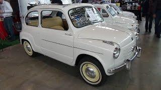 1957 - Fiat 600 II Serie Trasformabile - Exterior and Interior - Retro Classics Stuttgart 2015