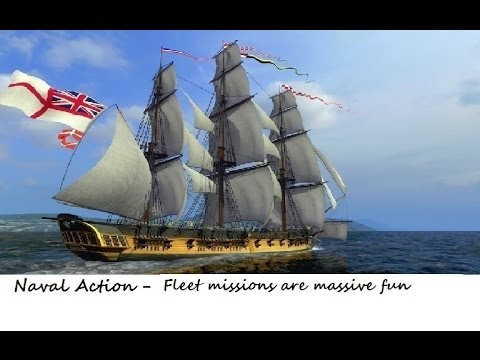 Naval Action - Solo Fleet Missions are massive fun