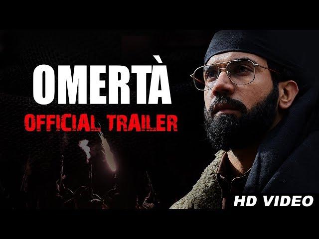 Omerta Official Trailer | Rajkummar Rao | Hansal Mehta | Releasing on 25th July on Zee5