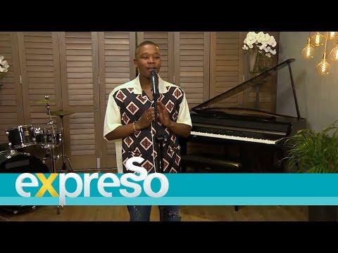 Langa Mavuso performs