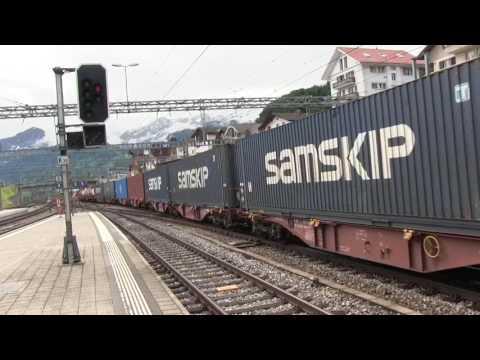 SBB & BLS Mainline Passenger & Freight Trains