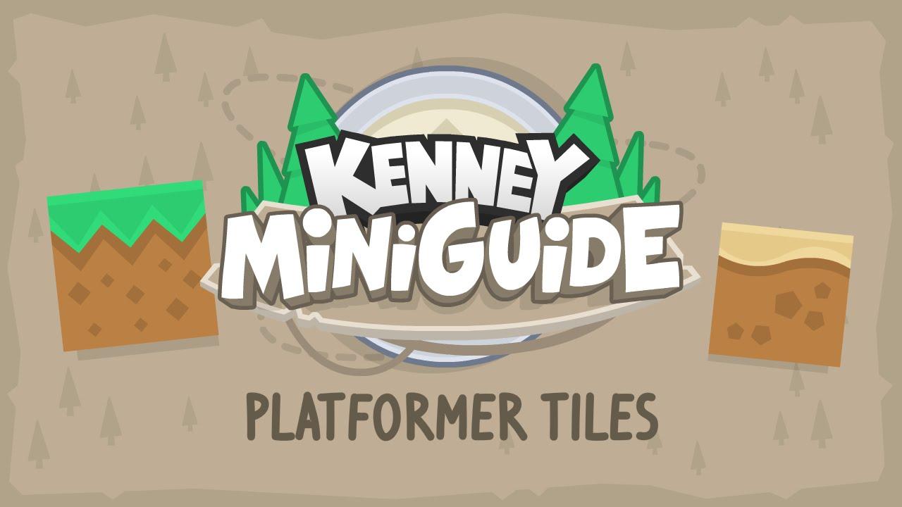 Kenney Miniguide 1: Platformer Tiles