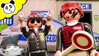 Playmobil Polizei - Polizist wird entführt! Playmobil Film