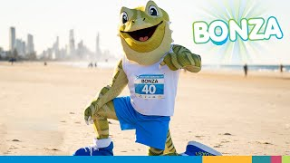 Meet Bonza! The Gold Coast Marathon Mascot