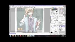 How to Edit RPC/OC with Paint tool SAI {Lineart}
