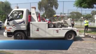 """Municipalidad de Santiago de Surco continua operativos de tránsito """"La Calle no es cochera"""""""