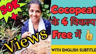 क्या आपने भी अभी तक इन कोकोपीट के विकल्पों को नहीं आजमाया ? Best Alternative Materials of Cocopeat