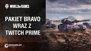 Pakiet Bravo Twitch Prime [World of Tanks Polska]