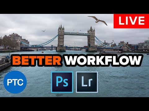 🔴 LIVE Replay  - Best Workflow Between Photoshop & Lightroom - No Tiff Files All editable #PTCLive