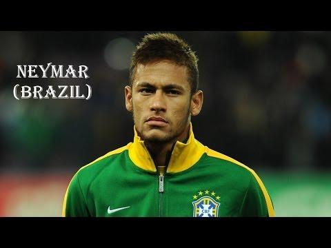 Brazil 2014 Stars Of The World Cup Neymar Brazil