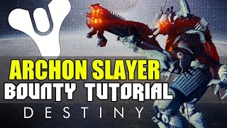 Destiny | Archon Slayer Riksis Bounty & Location Walkthrough | The Queens Wrath Limited Time Event!