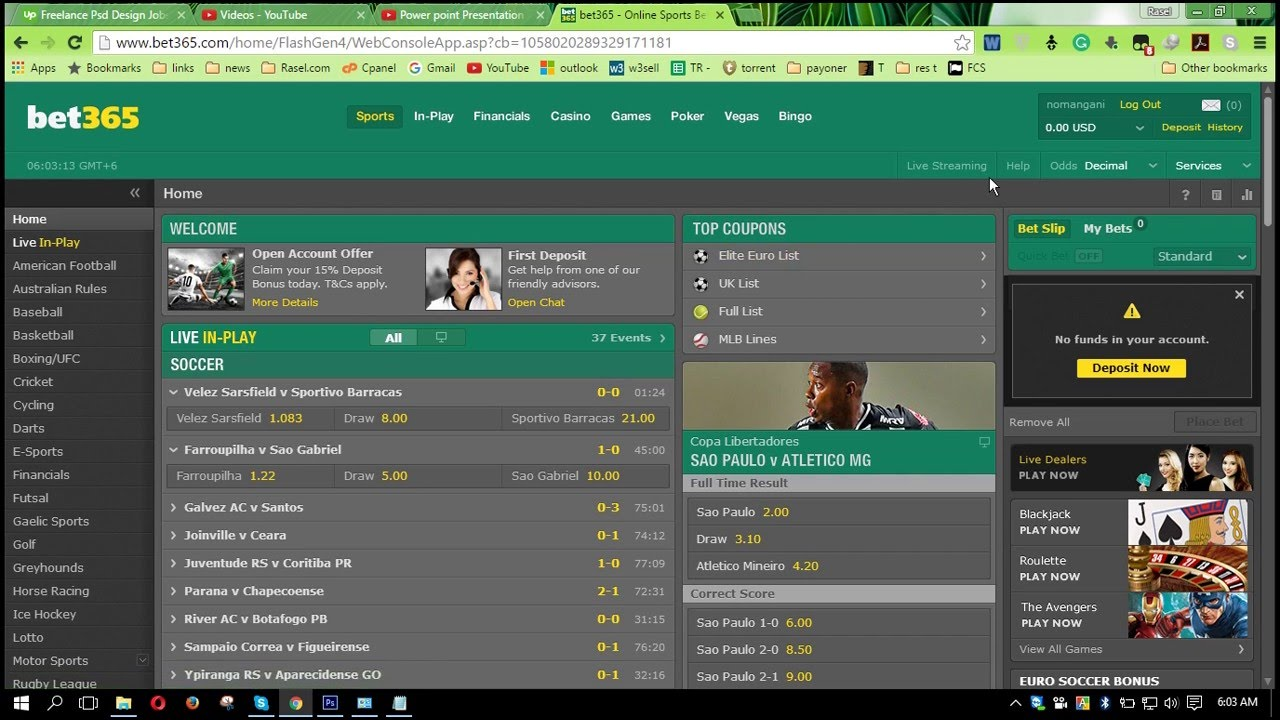 Www.Bet365.Com Login Mobile