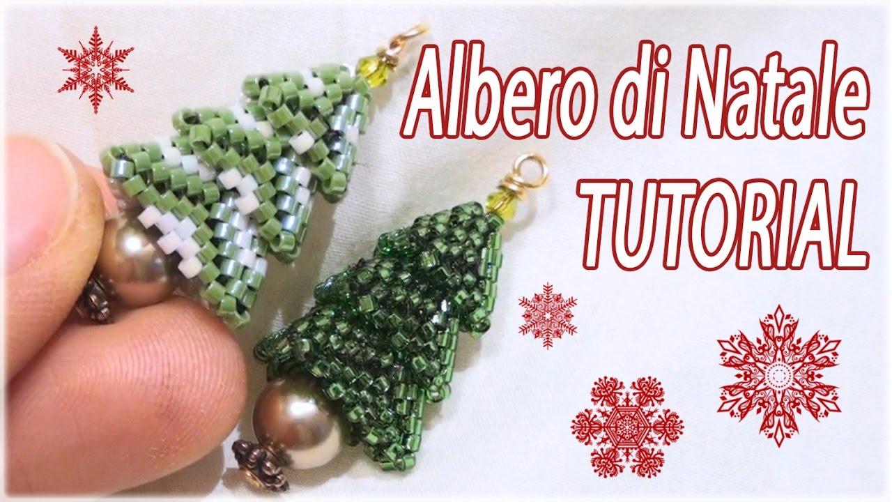 Lavoretti Di Natale Con Perline.Tutorial Albero Di Natale Con Perline Fai Da Te Con Perline Albero Natalizio Delica