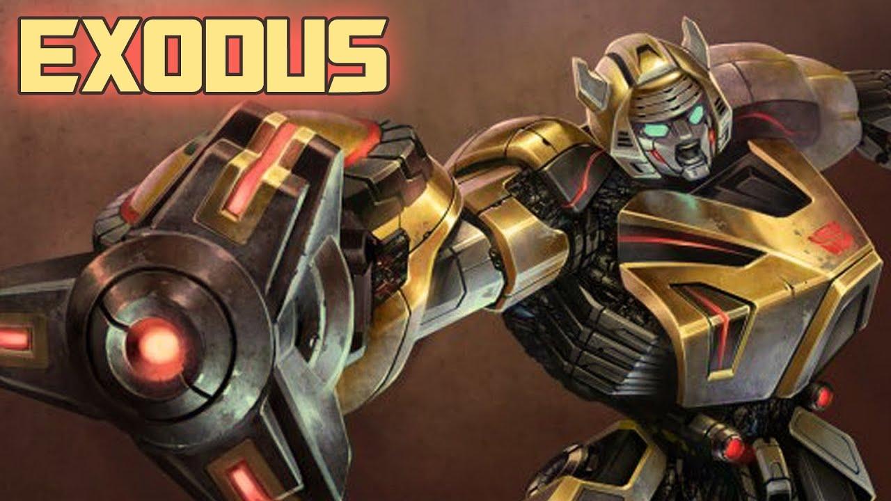 Fall Of Cybertron Wallpaper Hd Transformers Fall Of Cybertron Exodus Bumblebee Gameplay
