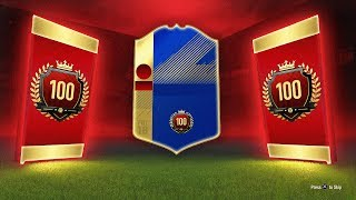 44 x TOTS RED MONTHLY TOP 100 REWARDS! - FIFA 18 Ultimate Team