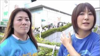 植松寿絵&渋谷シュウが後楽園大会をPR 春日萌花 動画 27