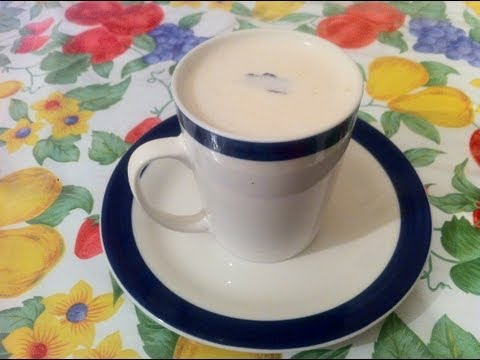 Atole de avena con leche ( Oatmeal with Milk )