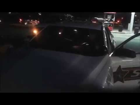 Flipping off the cops hurts his feeling. He proves he is a thug with a illegal stop. Cop Block