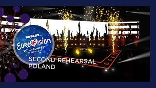 Poland - Margaret - Cool Me Down - Exclusive Rehearsal Clip - ROBLOX Eurovision 2019