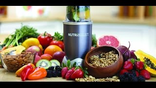 NutriBullet 600 Series - Nutritional Extractor - High Street TV