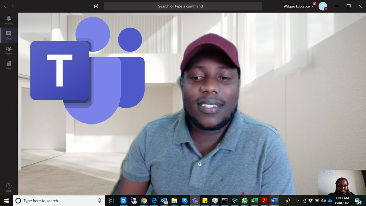 How To Change Your Background In Microsoft Teams - YouTube