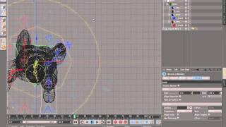 rigging a character with cinema 4d r13 character object