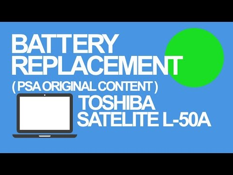 Toshiba Satellite L-50A Battery Replacement Guide