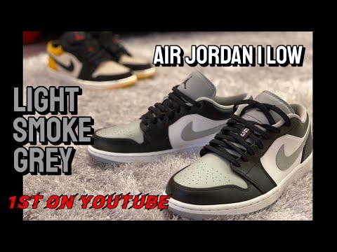 shadow air jordan 1 low on feet
