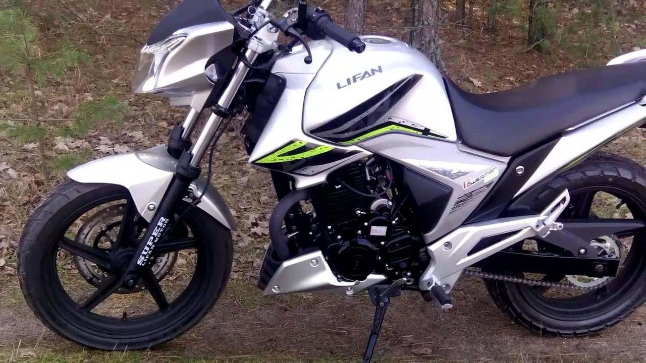 Lifan LF 250-3A. Обзор мотоцикла - YouTube