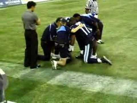 Michael Bishop Injured!! (July 12,