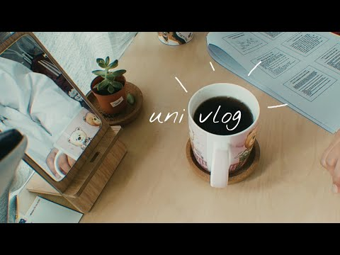 UNI VLOG | daily life as a student in Malaysia, study for midterm, need some motivation