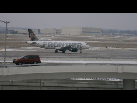 Indianapolis International Airport Spotting Feb. 15, 2016 Kalitta Air 747 Awesomeness!