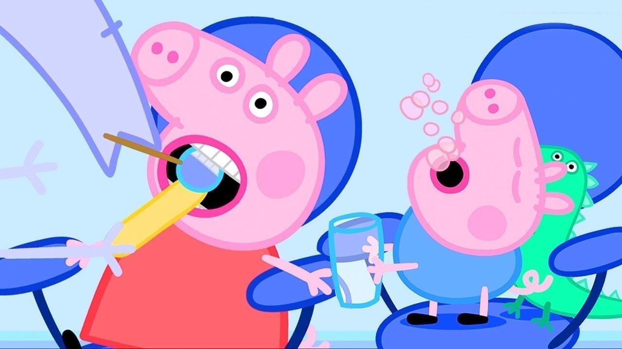 Peppa Pig Italiano - La prima volta dal dentista di Peppa Pig - Cartoni Animati