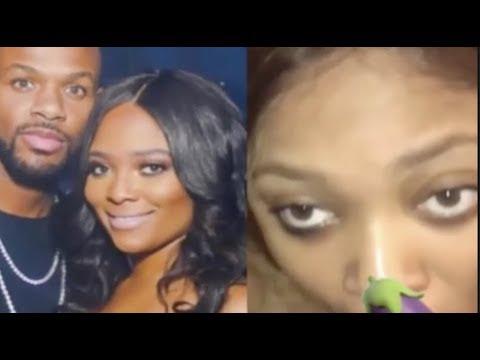 """Teairra mari's S-tape """"leaks""""+Milan Christopher get jumped by her boyfriend"""