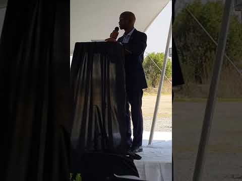 MEC Eric Kholwane, MEC Finance, Economic Developement & Tourism in Mpumalanga