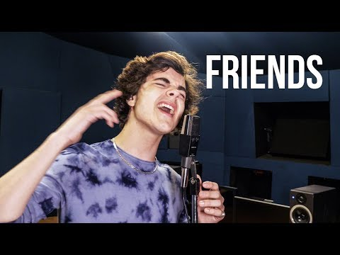 FRIENDS - Marshmello, Anne-Marie (Cover by Alexander Stewart)