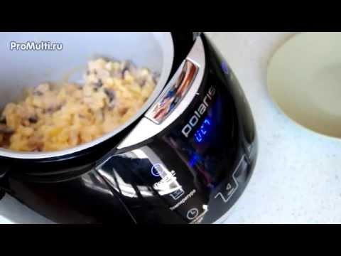 Картошка с грибами в мультиварке: самый простой рецепт