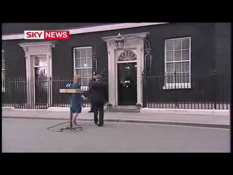 "Emotional Gordon Brown: ""Thank you & goodbye"""