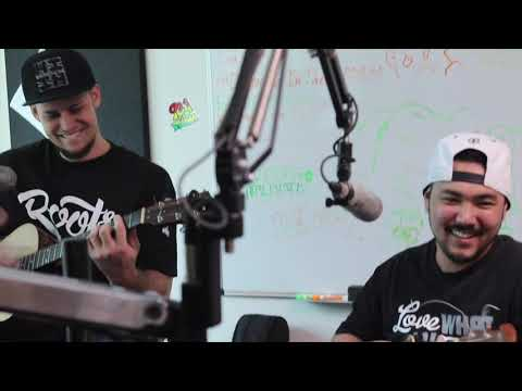 Local Uprising debuting Coconut Girl on 93.1 Da Paina (part 2 acoustic performance)